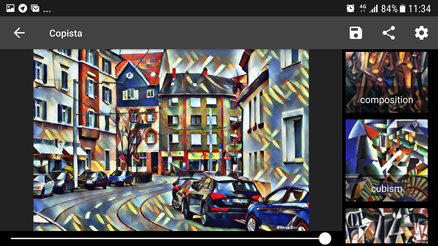 Copista - Cubism, expressionism AI photo filters
